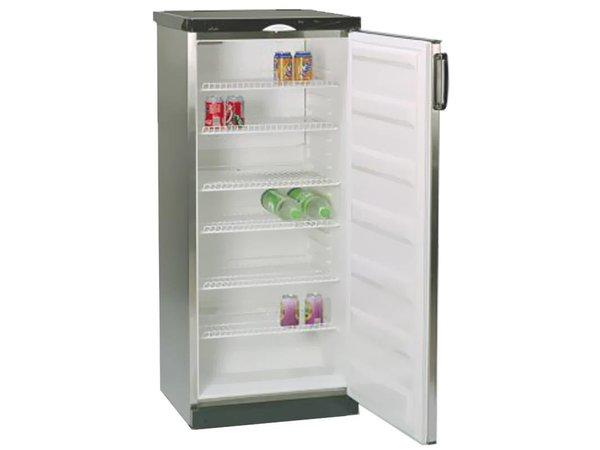 XXLselect Kühlschrank Deluxe - Edelstahl - 60x62x (h) 145cm