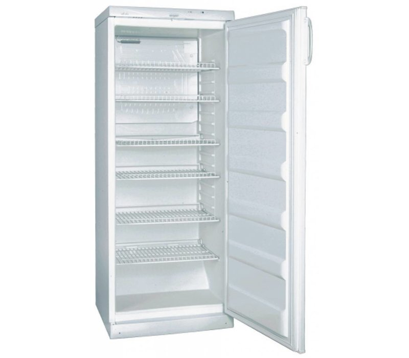XXLselect Refrigerator Deluxe - stainless steel - 60x62x (h) 145cm