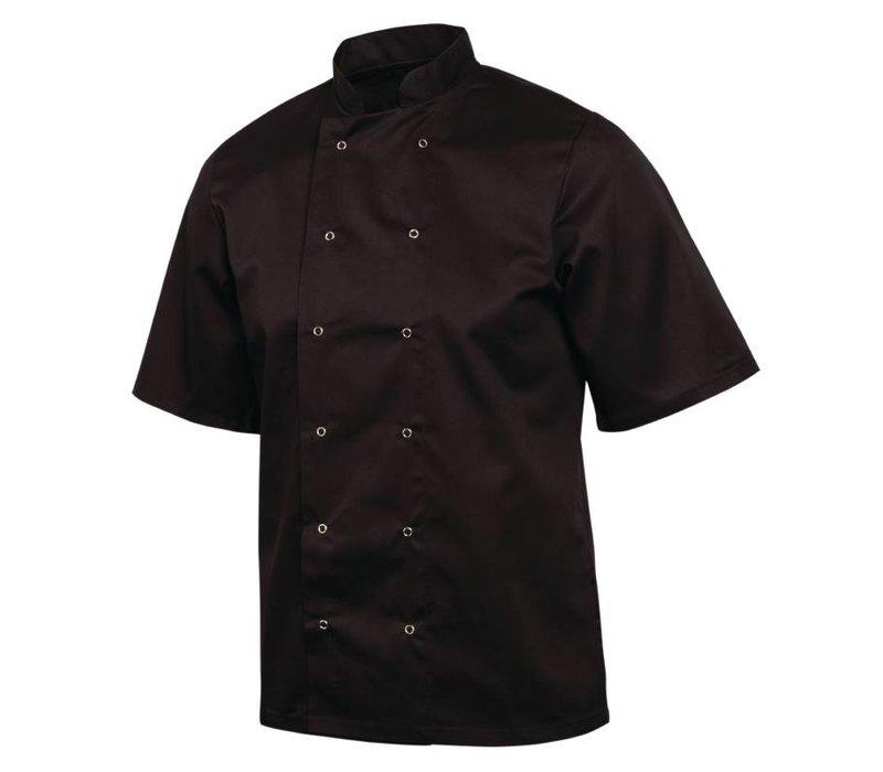 XXLselect Whites Vegas Chefs Tube - Short Sleeves - Available in 6 sizes - Unisex - Black