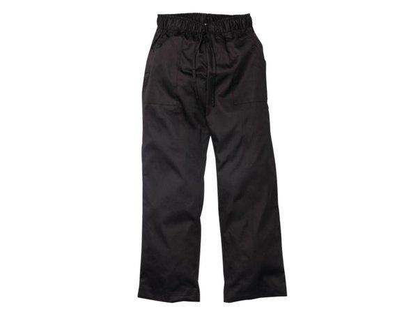 XXLselect Chef Works damespantalon - Beschikbaar in 5 maten - Zwart