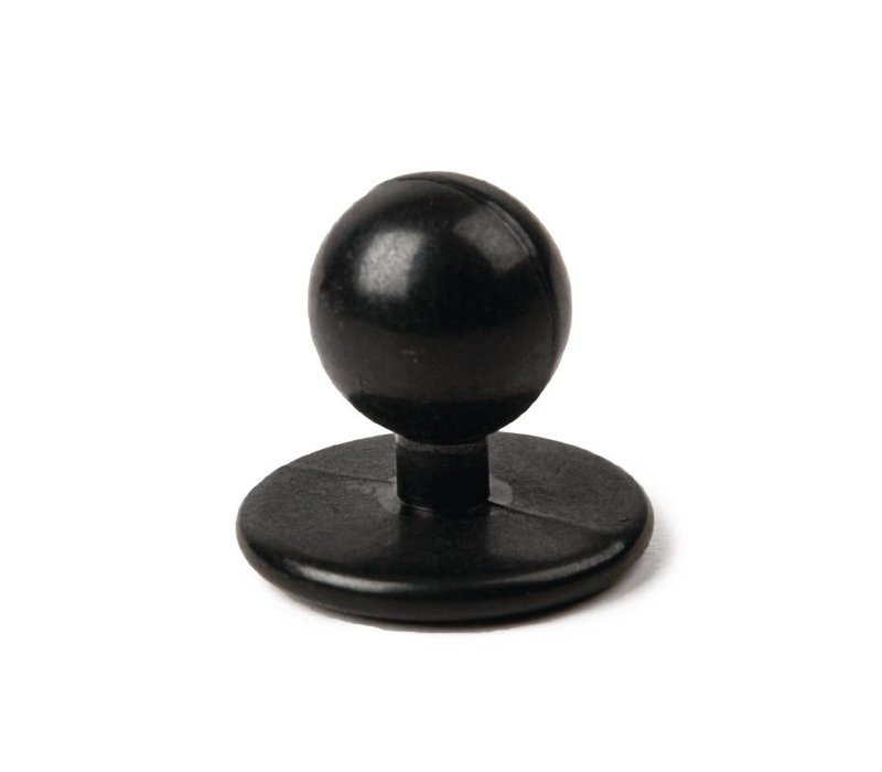 XXLselect Bolknopen Zwart voor Koksbuizen - Prijs per 12 stuks