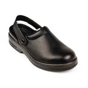 XXLselect Lites Safety Clogs - black - Available in twelve sizes - Unisex