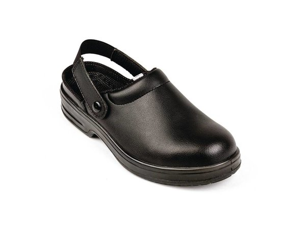 XXLselect Lites Safety Clogs - black - Available in twelve sizes - Unisex