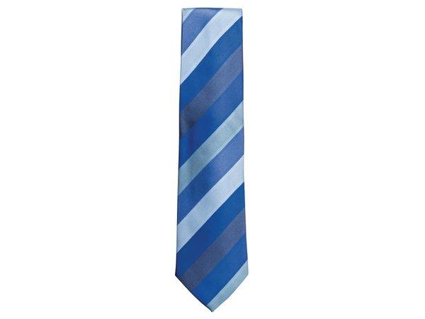 XXLselect Stropdas, blauw gestreept