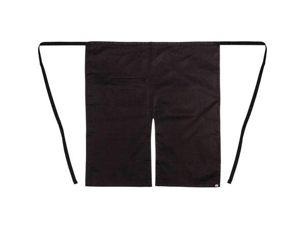 XXLselect Uniform Works bistro sloof - Afmeting 75(L) x 80(B)cm - Zwart - Unisex