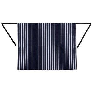 XXLselect Whites Sloof - 70 x 95cm - Blue / White striped - Unisex