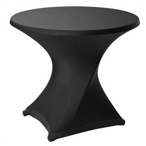 Bolero Stretch cover for table tops of ø 85cm and max. Height of 115cm