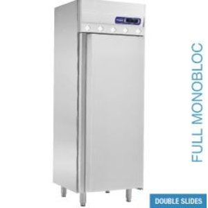 XXLselect Ventilated refrigerator GN 2/1 - 700 liters - 75x80x (h) 204cm