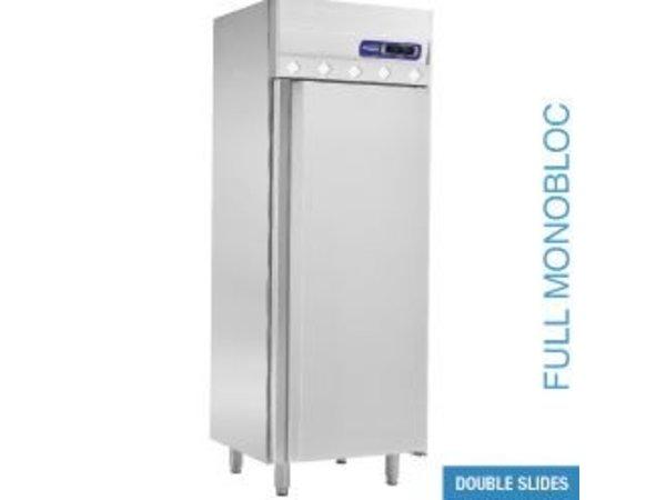 XXLselect Ventilated refrigerator GN 2/1 - 700 liters - 75x80x (h) 204cm