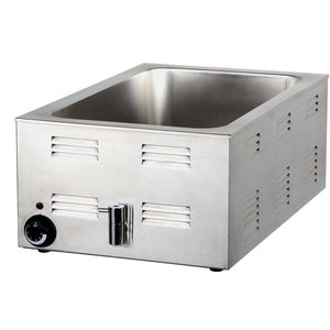 Combisteel Bain Marie | With drain valve | 150mm | 1200W | 538x336x (H) 243mm