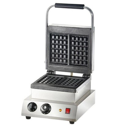 Combisteel Double waffle iron - for Brussels Waffles - 300x450x (H) 250mm - 2KW