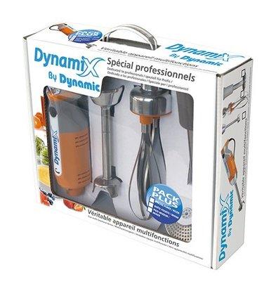 Dynamic Staafmixer Dynamic Set Met Motorblok + Pureerstaaf + Garde en Mixstaaf | 16cm Mixstaaf | 220W