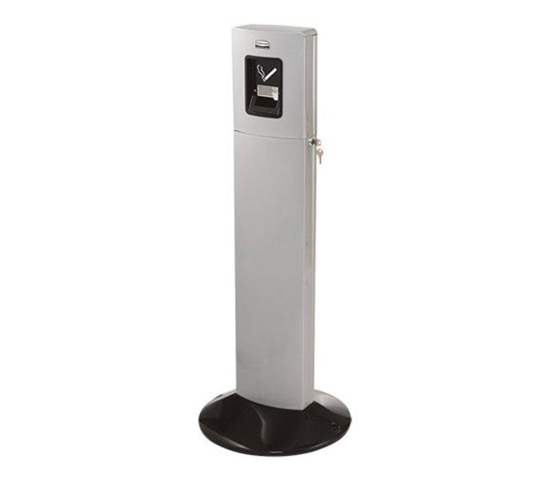 XXLselect Smoking Column BIG | Gray | Easy to Legen | 1800 Cigarettes | (H) 1090mm