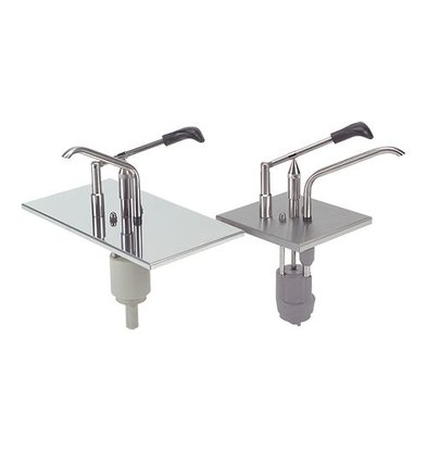 XXLselect Los sauce dispenser Stainless steel - stainless steel - 1/2 GN
