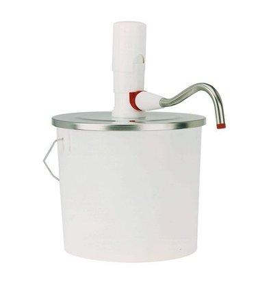 XXLselect Emmer Dispenser ABS - Kunststof - 5 Liter - 22,5cm