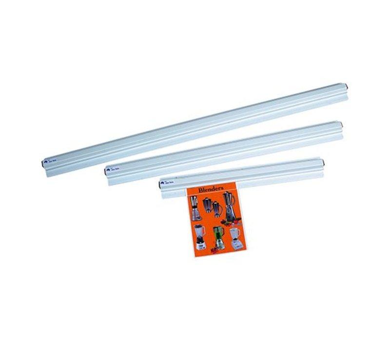 XXLselect Bonnenhouder Wit Kunsstof - 1000 mm