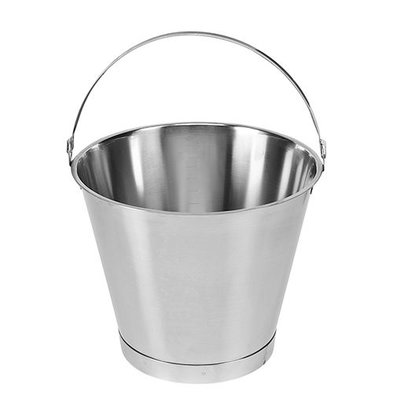 XXLselect Bucket RVS 12,5 Liter - Größenverteilung