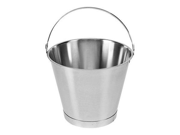 XXLselect Bucket RVS 10 Liter - Größenverteilung