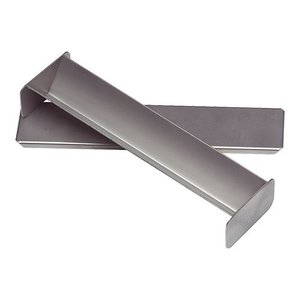 XXLselect Pate Form | Stainless Steel | Triangle Shape | 40x300x60mm