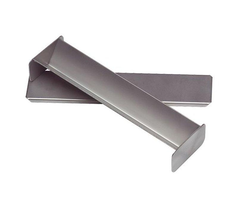 XXLselect Pate Formular | Edelstahl | Dreieck-Form | 40x300x60mm