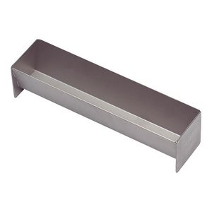 XXLselect Pate Form | Square | With Lid | Stainless Steel | 60x300x70mm