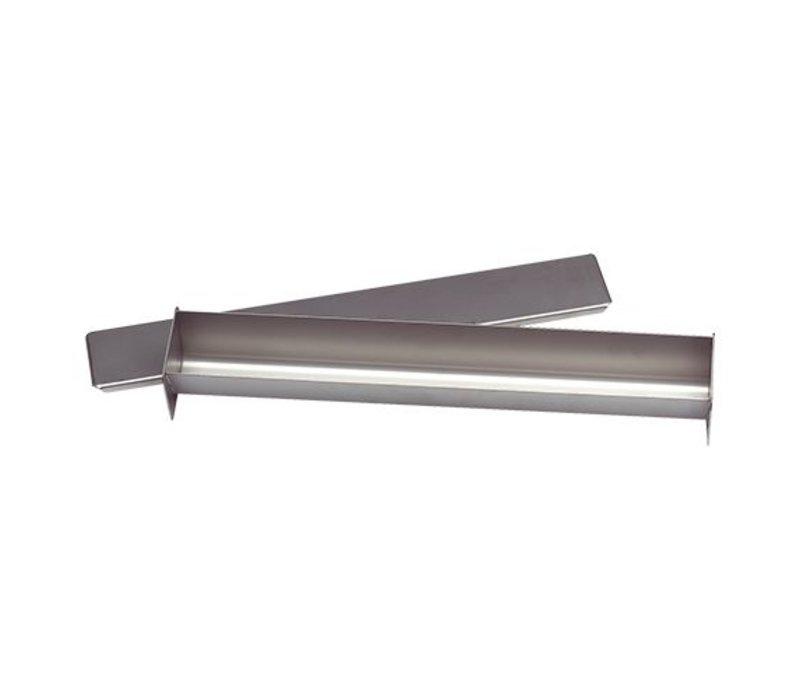 XXLselect Pate Vorm | Roestvrij Staal | Vierkant | 55x450x60mm