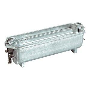 XXLselect Pate Form | Cast Aluminium | Half Round | 80x25x80mm