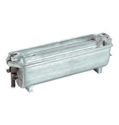 XXLselect Pate Vorm | Gegoten Alluminium | Half Rond | 80x25x80mm