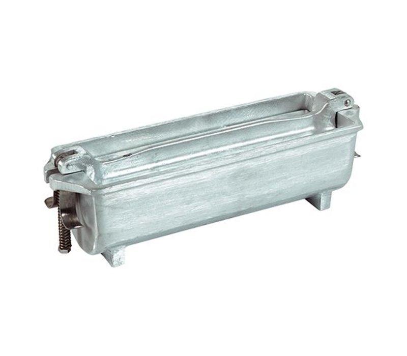 XXLselect Pate Formular   Aluminiumguss   Halbrund   80x250x80mm