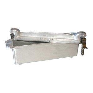 XXLselect Pate Vorm | Gegoten Alluminium | Vierkant | 7,5x24x5,5cm
