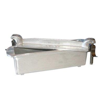 XXLselect Pate Formular | Aluminiumguss | square | 7,5x24x5,5cm