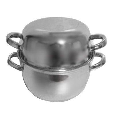 XXLselect Mussel SS | Medium Servings | Ø180mm | 1kg