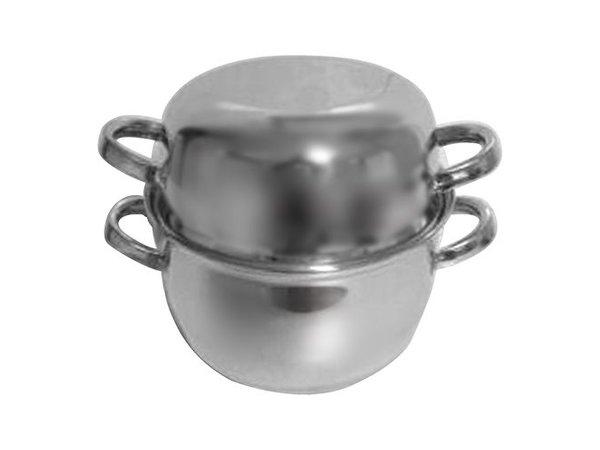 XXLselect Mussel SS | Medium Umhüllungen | Ø180mm | 1 kg