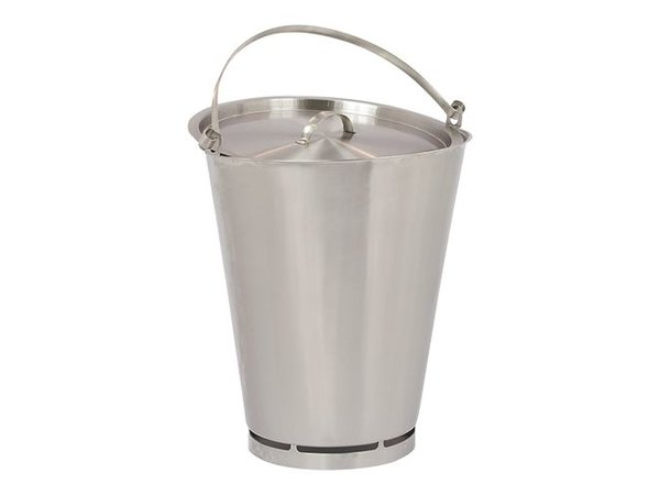 XXLselect Deksel voor Emmer RVS 15 Liter PRO