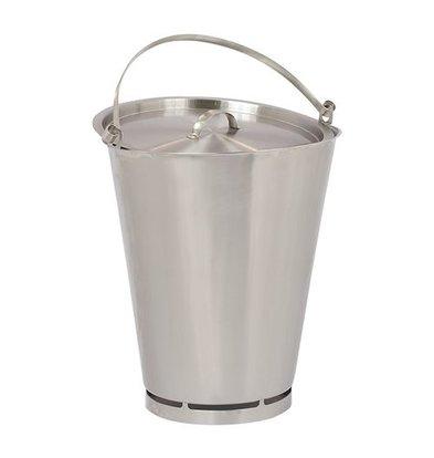 XXLselect Bucket RVS 15 Liter - Size fl Ling PRO