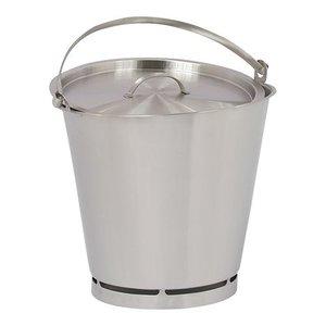 XXLselect Bucket RVS 10 Liter - Size Distribution PRO
