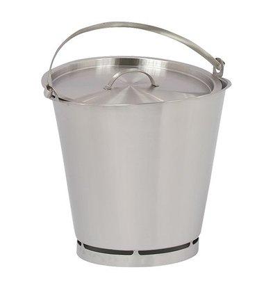 XXLselect Bucket RVS 10 Liter - Größenverteilung PRO