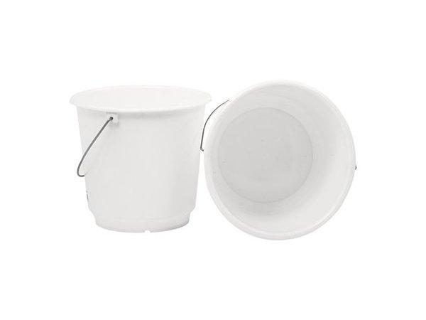 XXLselect Bucket White Kunststofcentrum 20 Liter - Size Distribution