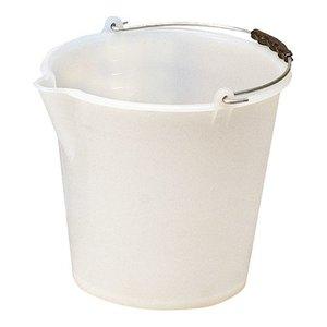 XXLselect Bucket Weiß Kunststofcentrum 9 Liter - Spout