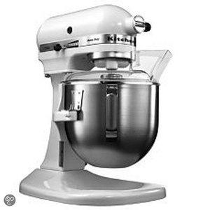 XXLselect KitchenAid K5 Mixer - Wit - 4,8L
