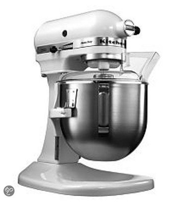 XXLselect KitchenAid K5 Mixer - Weiß - 4,8L