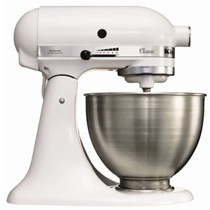XXLselect KitchenAid K45 Mixer - White - 4,3L
