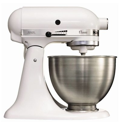 Kitchenaid KitchenAid K45 Mixer - White - 4,3L