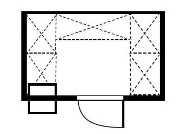 XXLselect Plug-Gefrierzelle 240x180x200cm
