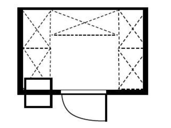 XXLselect Plug-cold room 210x180x200cm