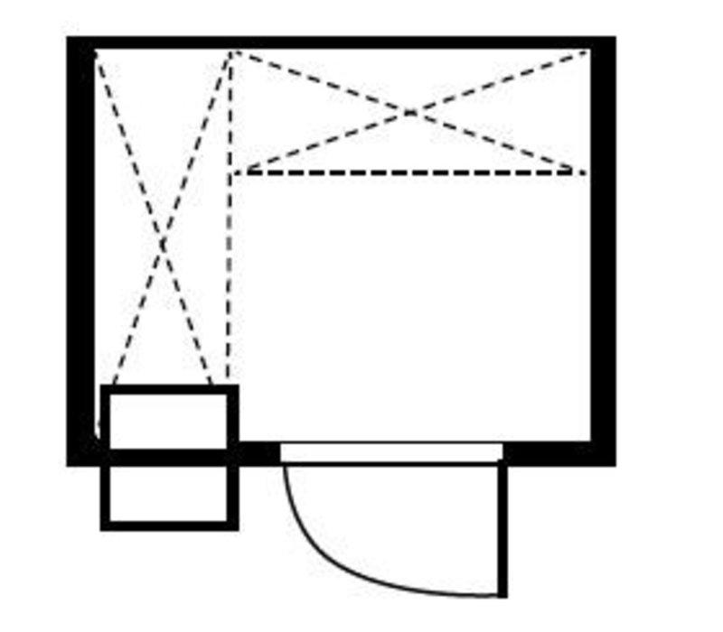 XXLselect Plug-Gefrierzelle 180x180x200cm