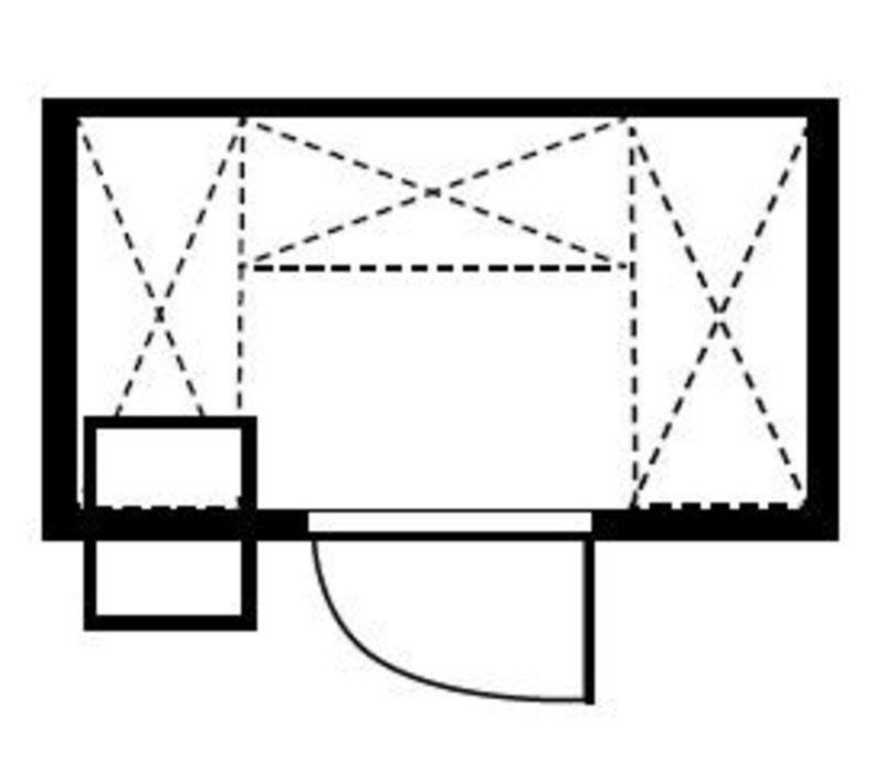 XXLselect Plug-Gefrierzelle 210x150x200cm