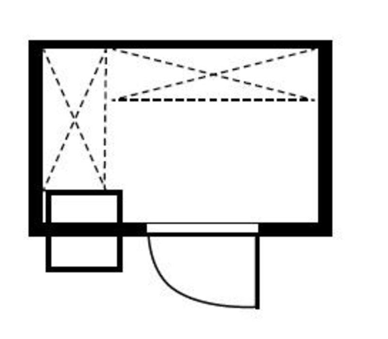 XXLselect Plug-Gefrierzelle 180x150x200cm