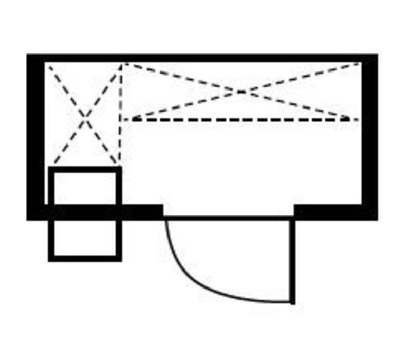XXLselect Plug-Gefrierzelle 180x120x200cm