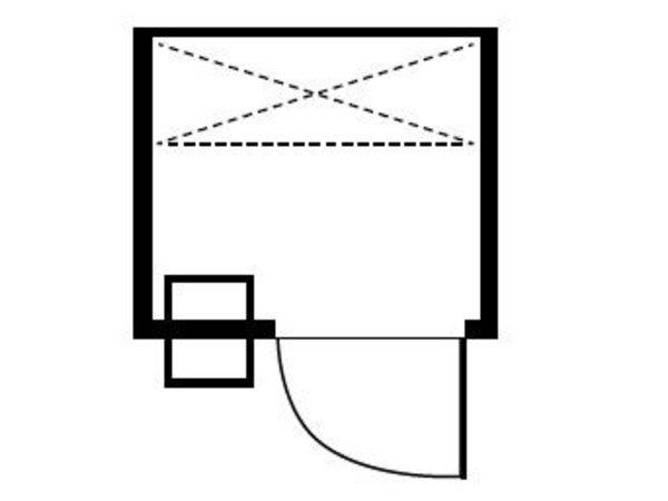 XXLselect Plug-cold room 120x120x200cm